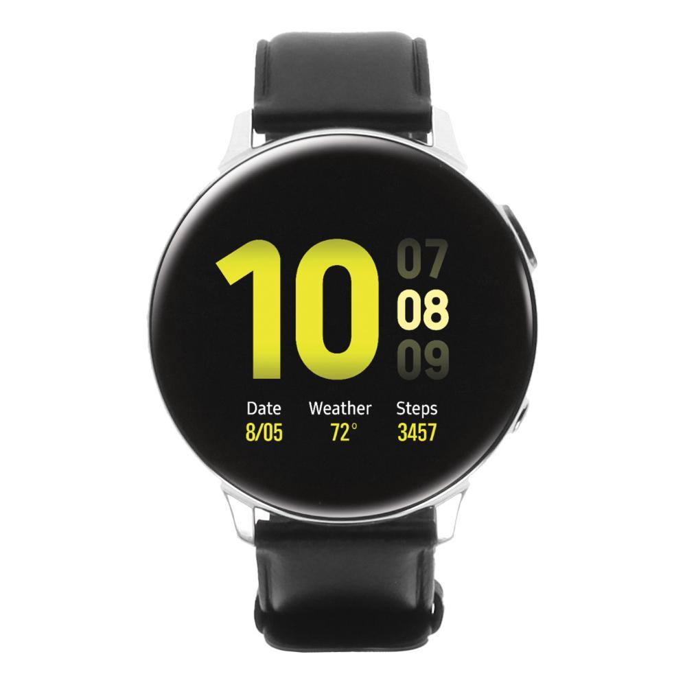 Samsung Galaxy Watch Active 2 44mm Edelstahl LTE silber - neu