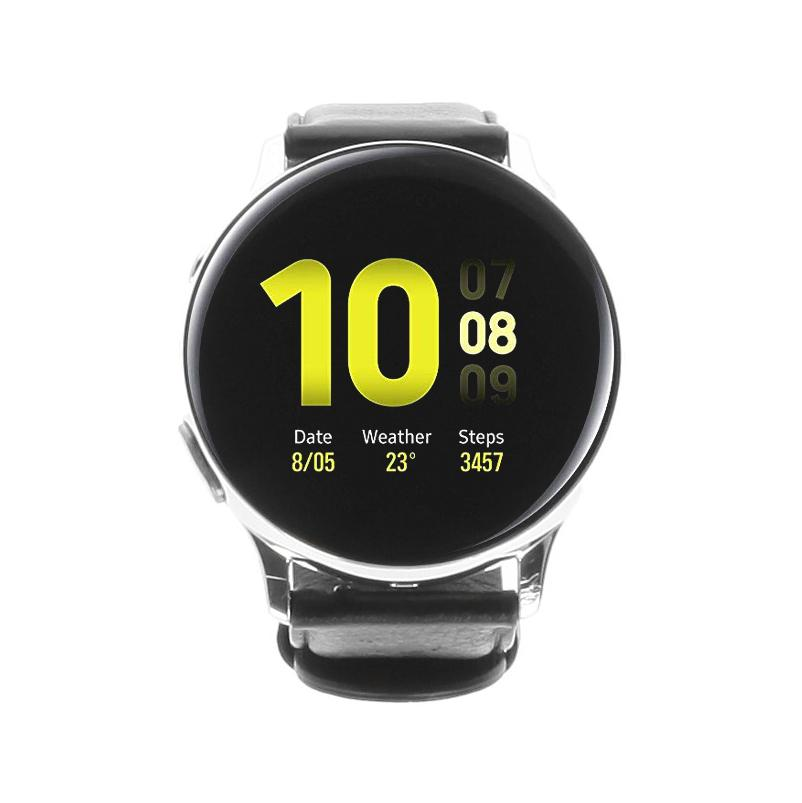 Samsung Galaxy Watch Active 2 40mm acier inoxydable LTE argent - Bon