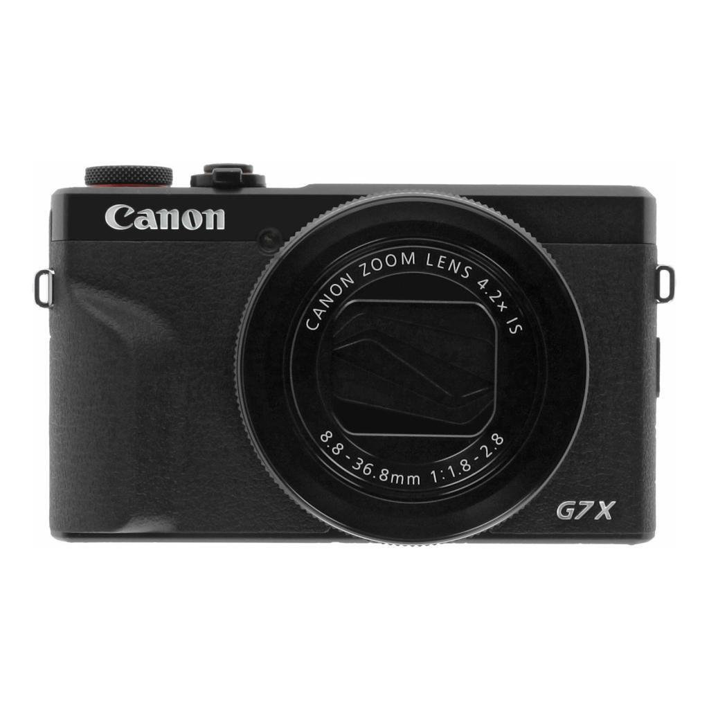 Canon PowerShot G7 X Mark III schwarz - neu
