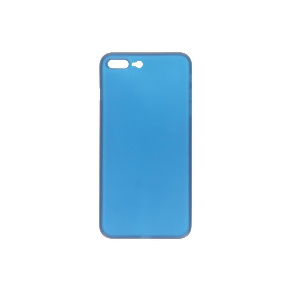 Hard Case für Apple iPhone 7 Plus / 8 Plus -ID16996 blau/durchsichtig - neu