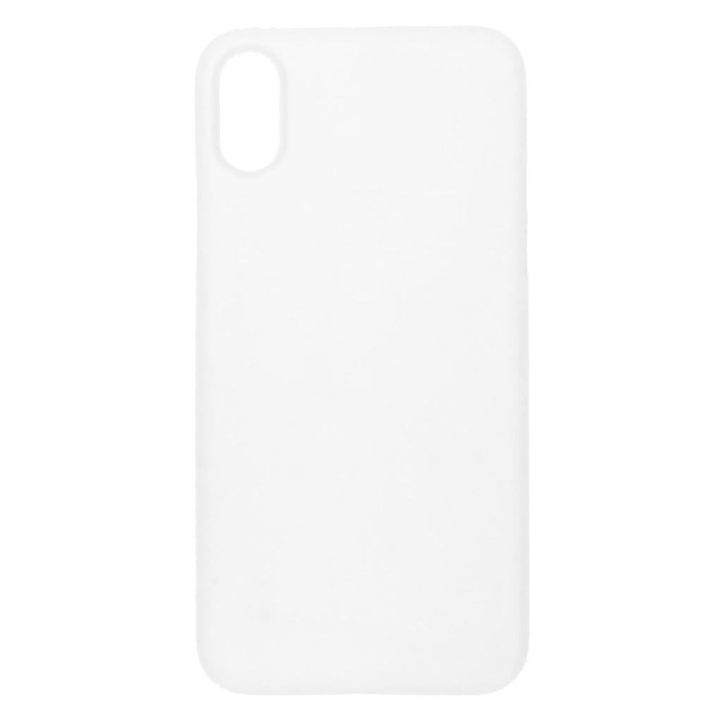 Hard Case für Apple iPhone X -ID16999 weiß/durchsichtig - neu