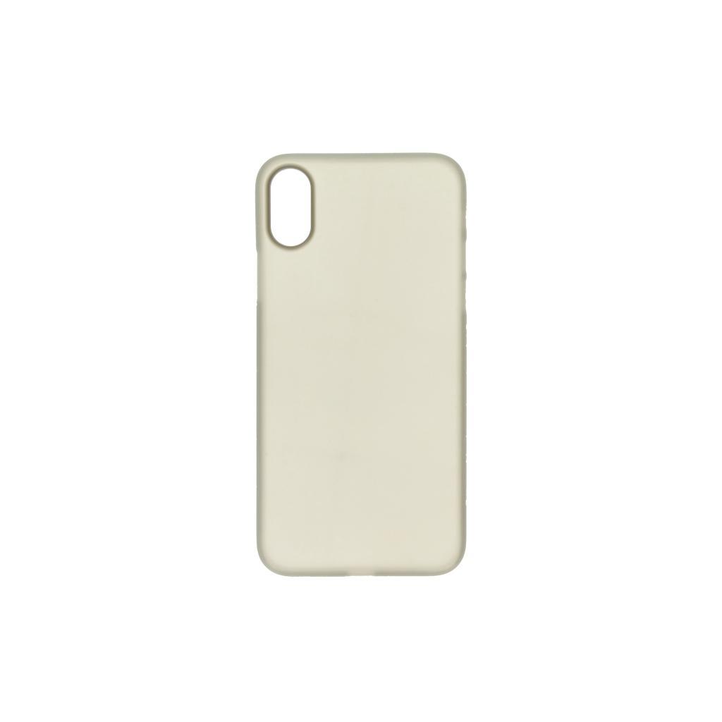 Hard Case für Apple iPhone X -ID17000 schwarz/durchsichtig - neu