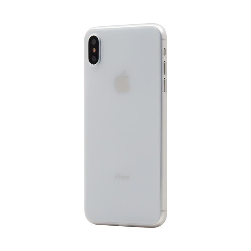 Hard Case für Apple iPhone XS -ID17005 weiß/durchsichtig - neu