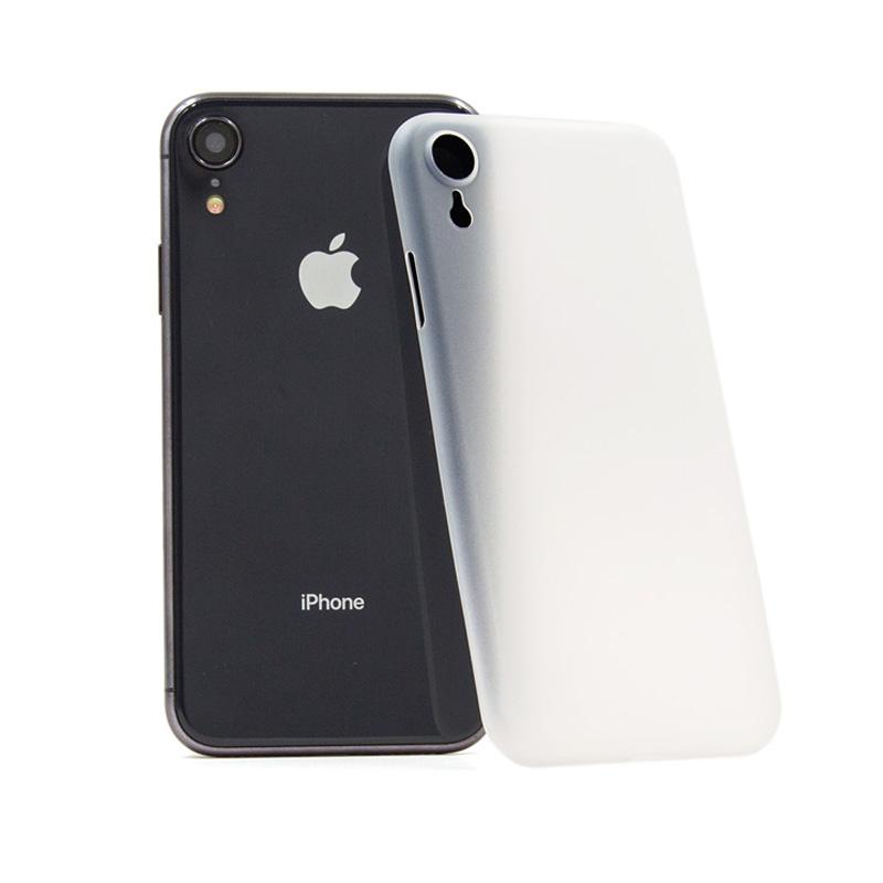 Hard Case für Apple iPhone XR -ID17011 weiß/durchsichtig - neu