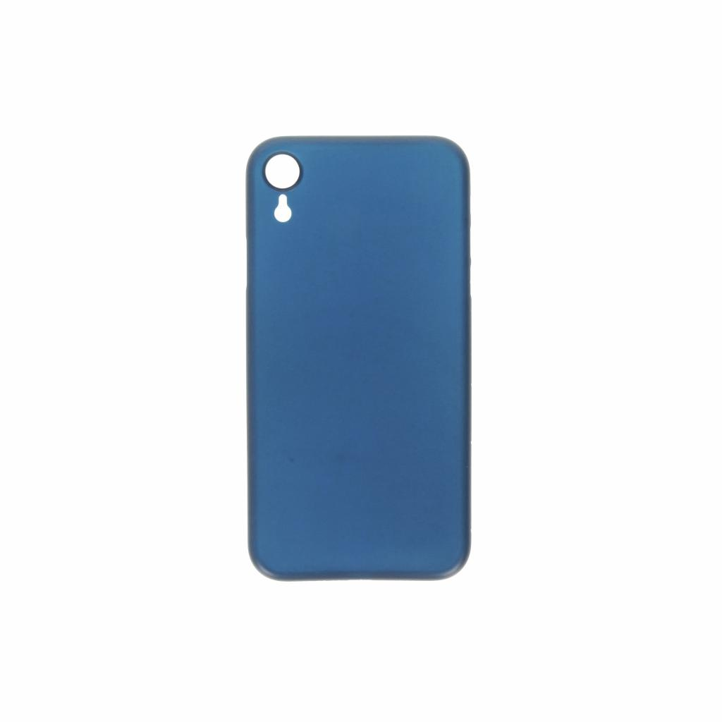 Hard Case für Apple iPhone XR -ID17013 blau/durchsichtig - neu