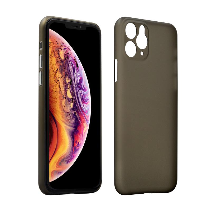 Hard Case für Apple iPhone 11 Pro Max -ID17032 schwarz/durchsichtig - neu