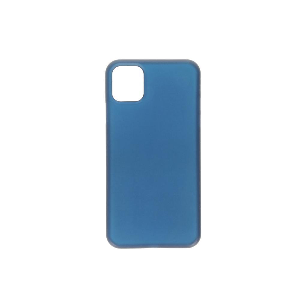 Hard Case für Apple iPhone 11 -ID17037 blau/durchsichtig - neu