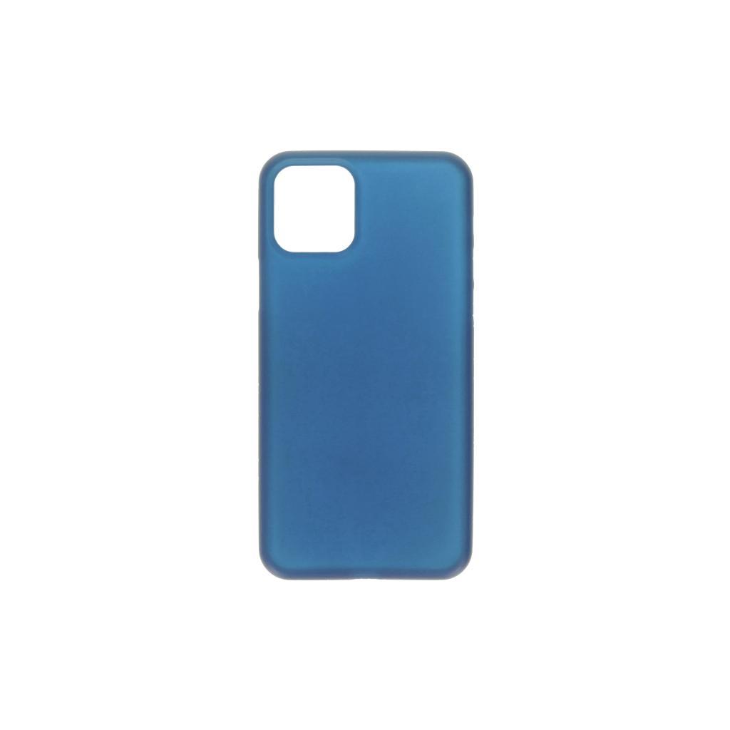 Hard Case für Apple iPhone 11 Pro Max -ID17045 blau/durchsichtig - neu