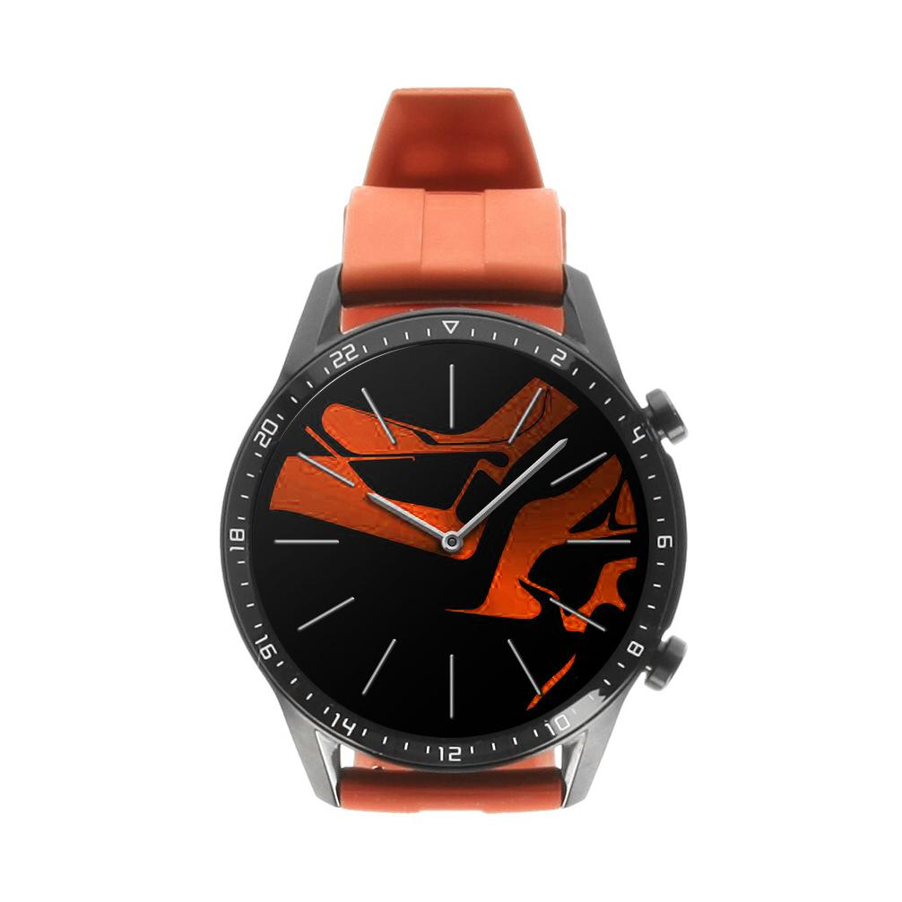Huawei Watch GT2 46mm schwarz mit Sportarmband orange  orange - neu