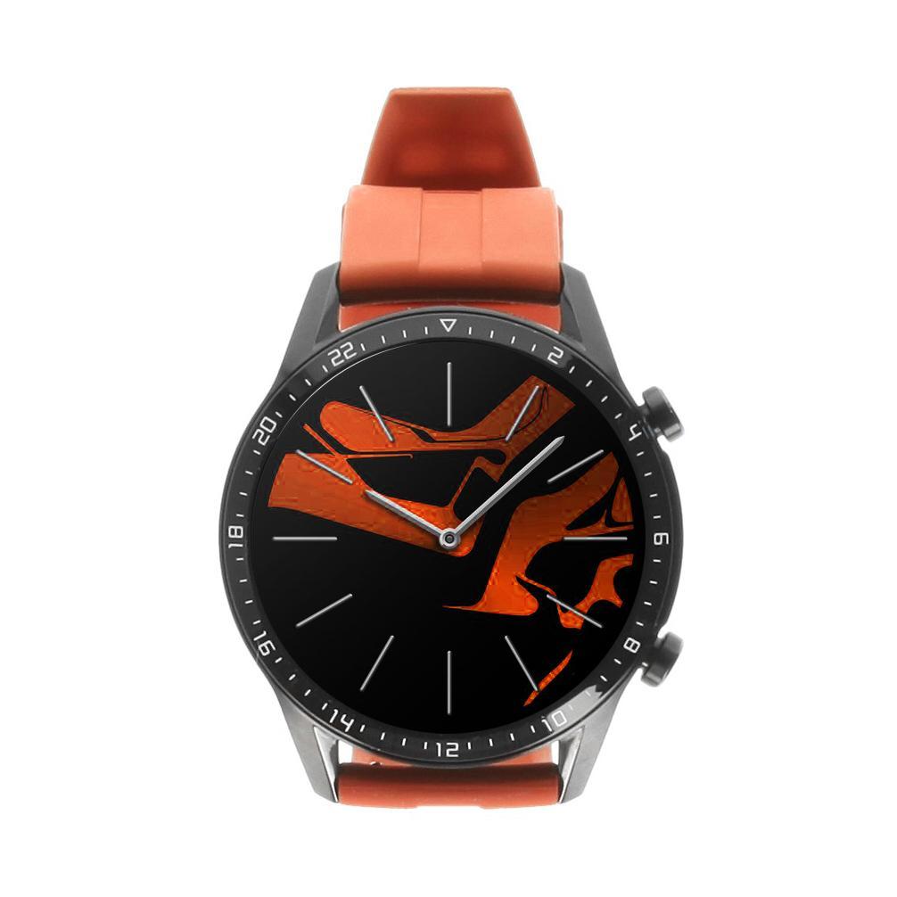 Huawei Watch GT2 46mm noir avec bracelet sport orange - Neuf