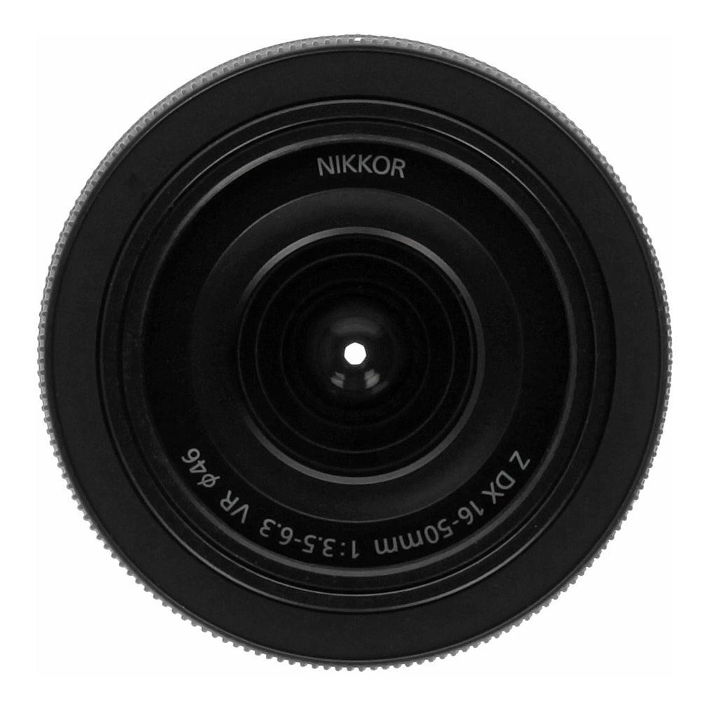 Nikon 16-50mm 3.5-6.3 VR Z DX negro - nuevo
