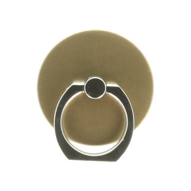 Handy Fingerhalter / Ständer -ID17449 gold - neu