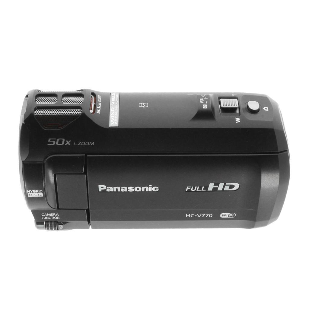 Panasonic HC-V770 schwarz - neu
