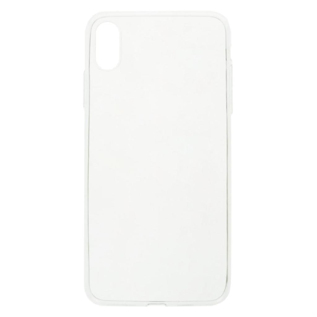 Soft Case für Apple iPhone XS Max -ID17500 durchsichtig - neu