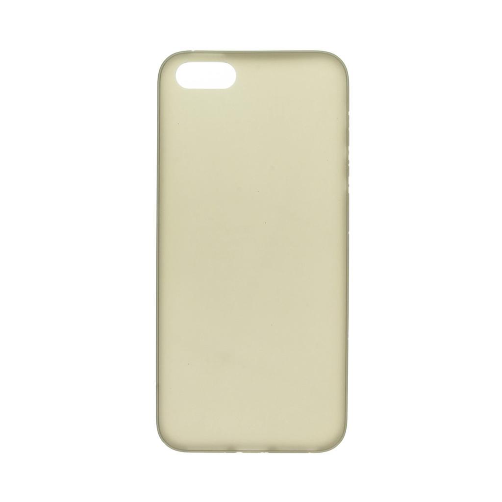 Hard Case für für Apple iPhone SE / 5 / 5S / 5C -ID17505 schwarz/durchsichtig - neu