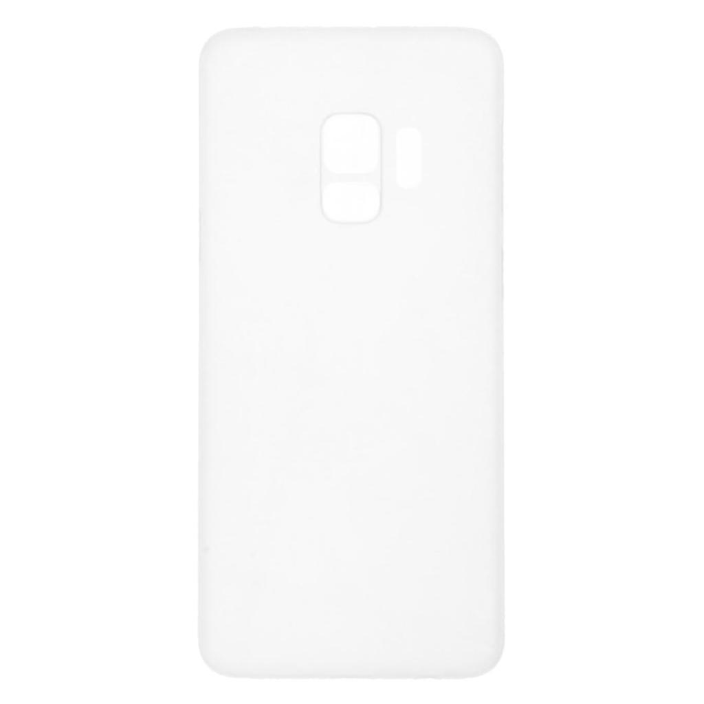 Hard Case für Samsung Galaxy S9 -ID17514 weiß/durchsichtig - neu