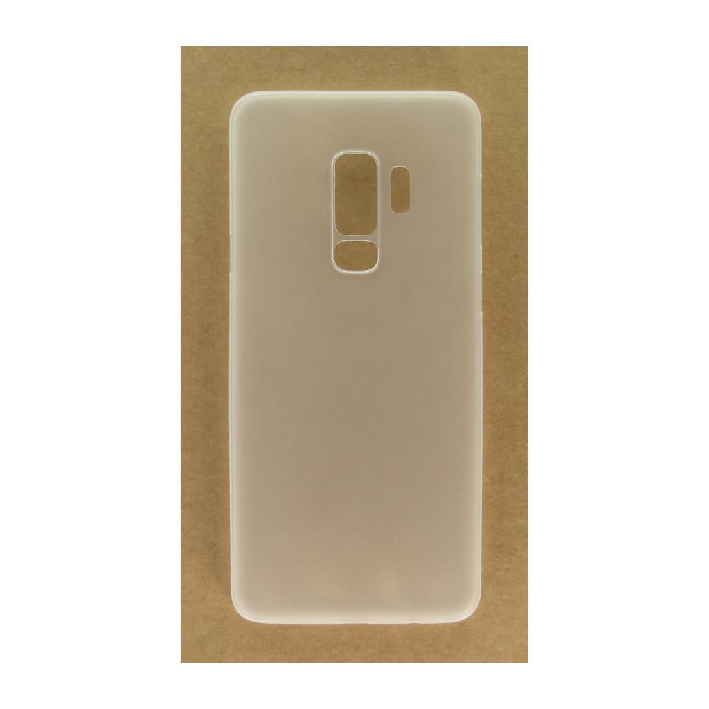 Hard Case für Samsung Galaxy S9 Plus -ID17515 weiß/durchsichtig - neu