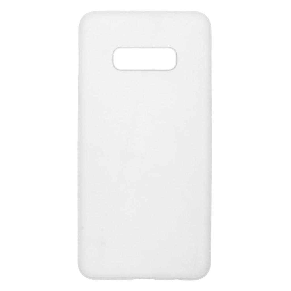 Hard Case für Samsung Galaxy S10e -ID17518 weiß/durchsichtig - neu