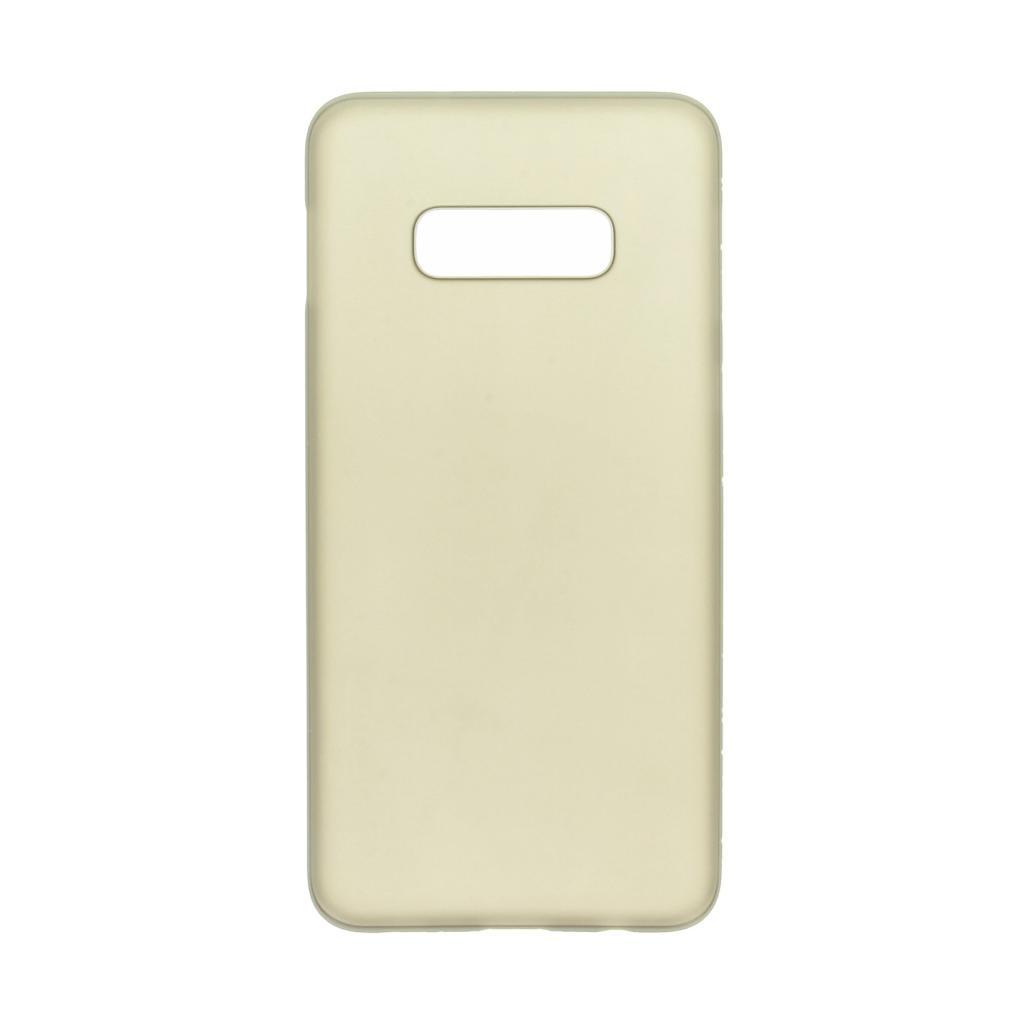 Hard Case für Samsung Galaxy S10e -ID17519 schwarz/durchsichtig - neu