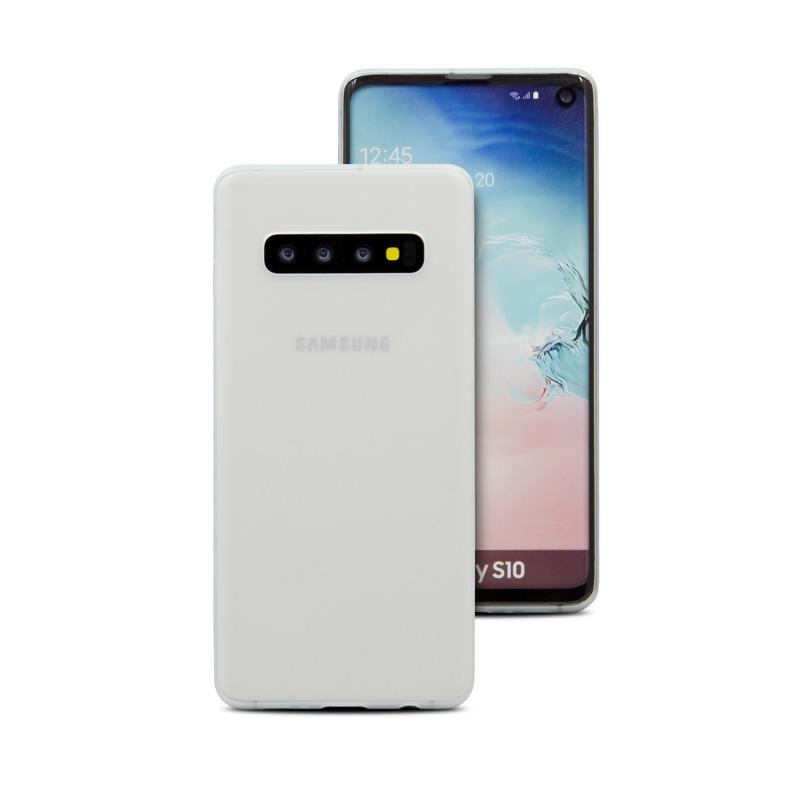 Hard Case für Samsung Galaxy S10 -ID17522 weiß/durchsichtig - neu
