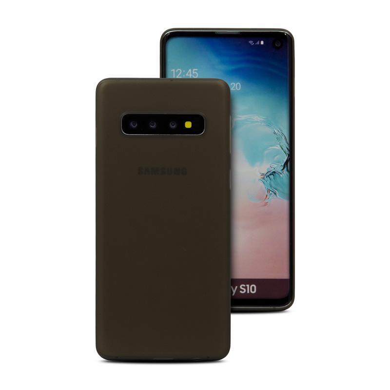 Hard Case für Samsung Galaxy S10 -ID17523 schwarz/durchsichtig - neu