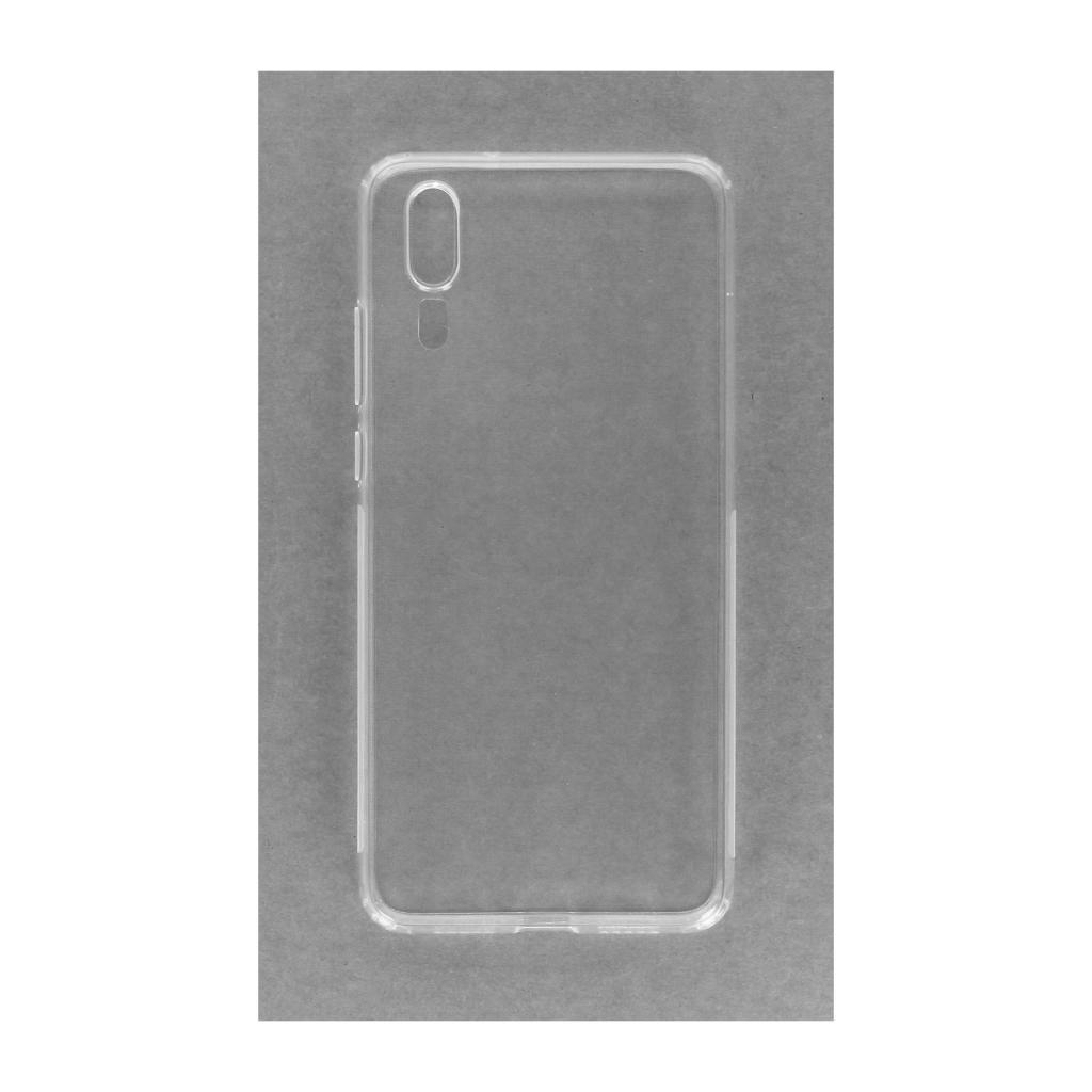 Soft Case für Huawei P20 -ID17550 durchsichtig - neu
