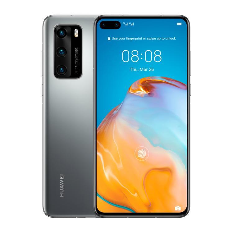 Huawei P40 Dual-Sim 5G 128GB silber - neu