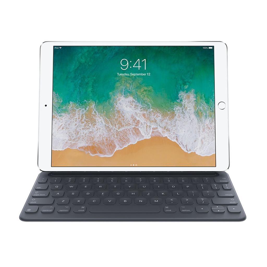 """Apple Smart Keyboard für iPad 10,2"""" / iPad Pro 10,5"""" / iPad Air 3 Gen. (MPTL2D/A) schwarz - neu"""