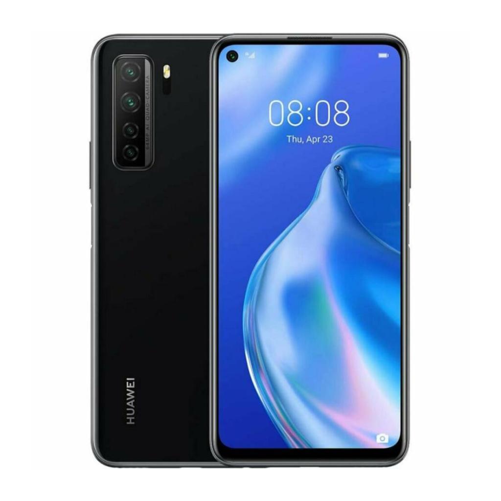 Huawei P40 lite 5G Dual-Sim 128GB schwarz - neu
