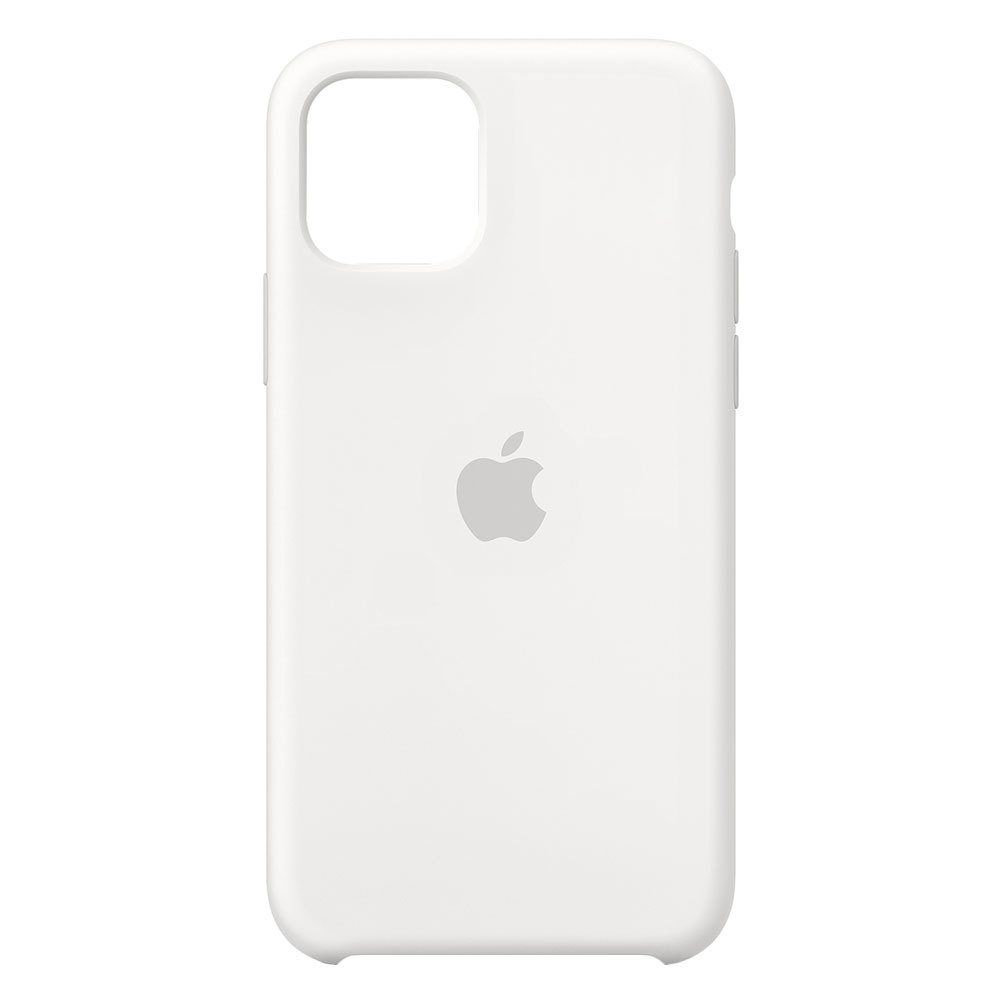 Apple Silikon Case für iPhone 11 Pro (MWYL2ZM/A) weiß - gut