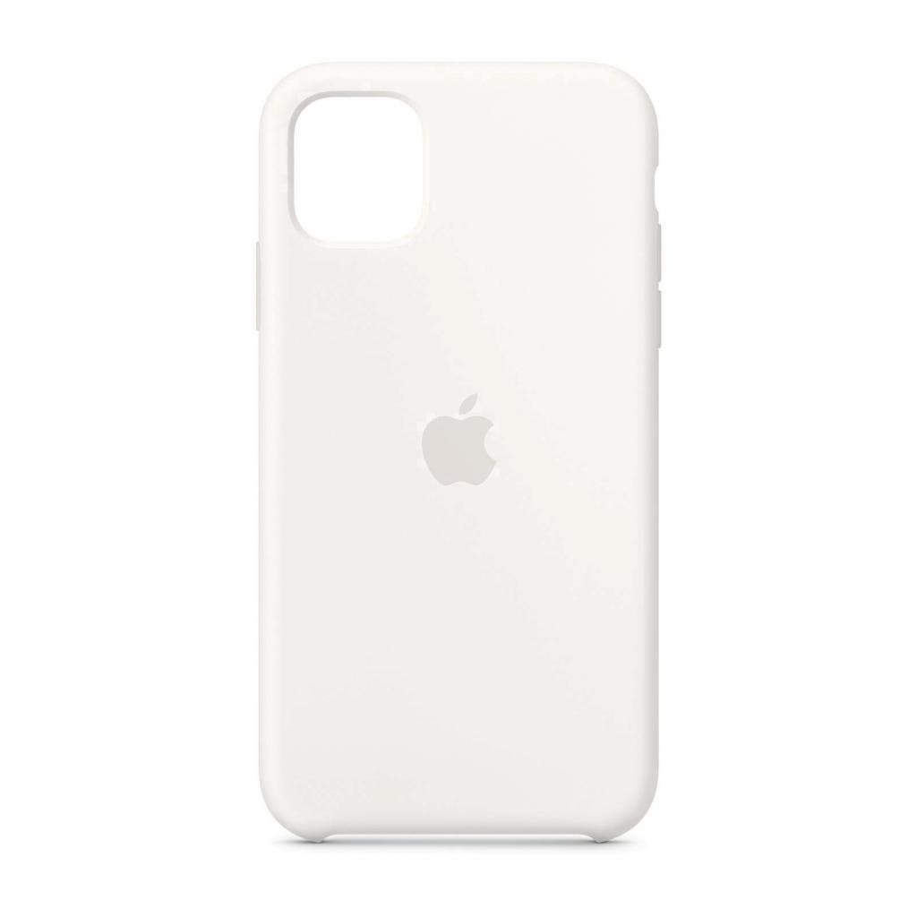 Apple Silikon Case für iPhone 11 (MWVX2ZM/A) -ID17795 weiß - gut