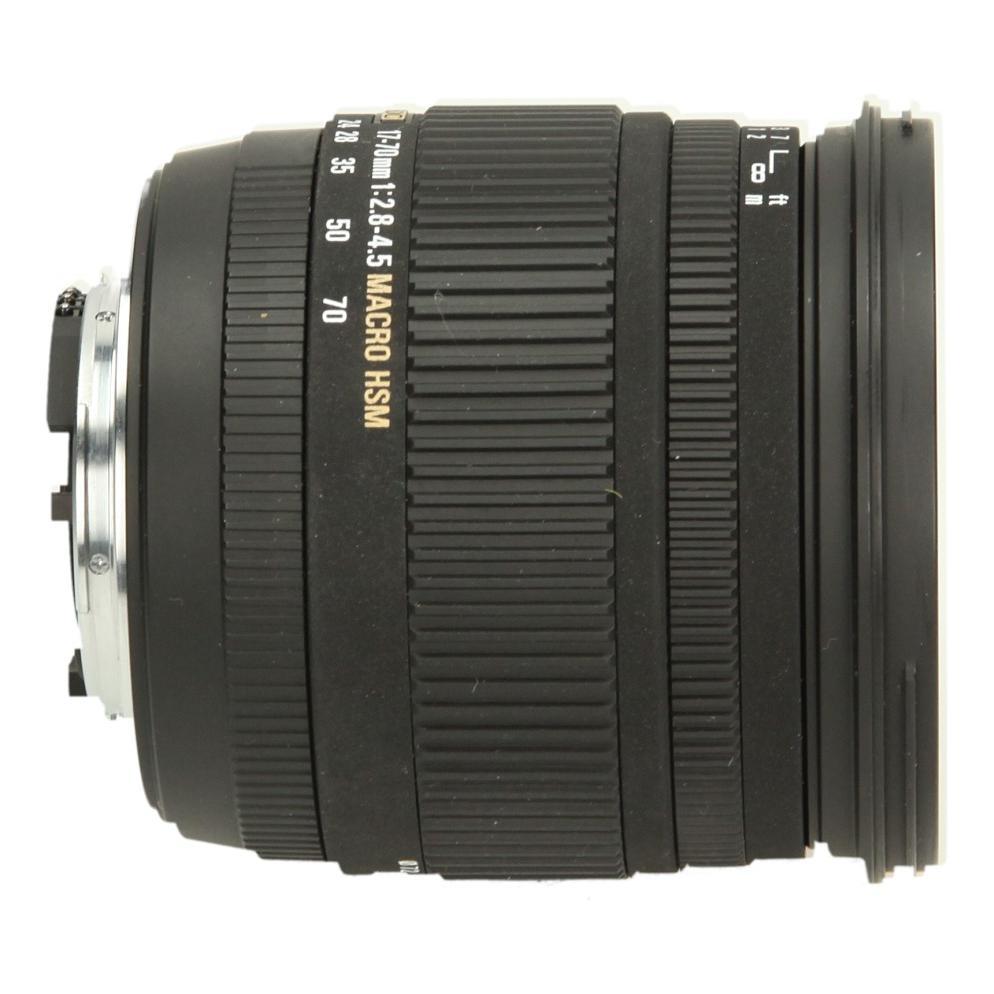 Sigma 17-70mm 1:2.8-4.5 DC HSM Macro für Nikon Schwarz - neu