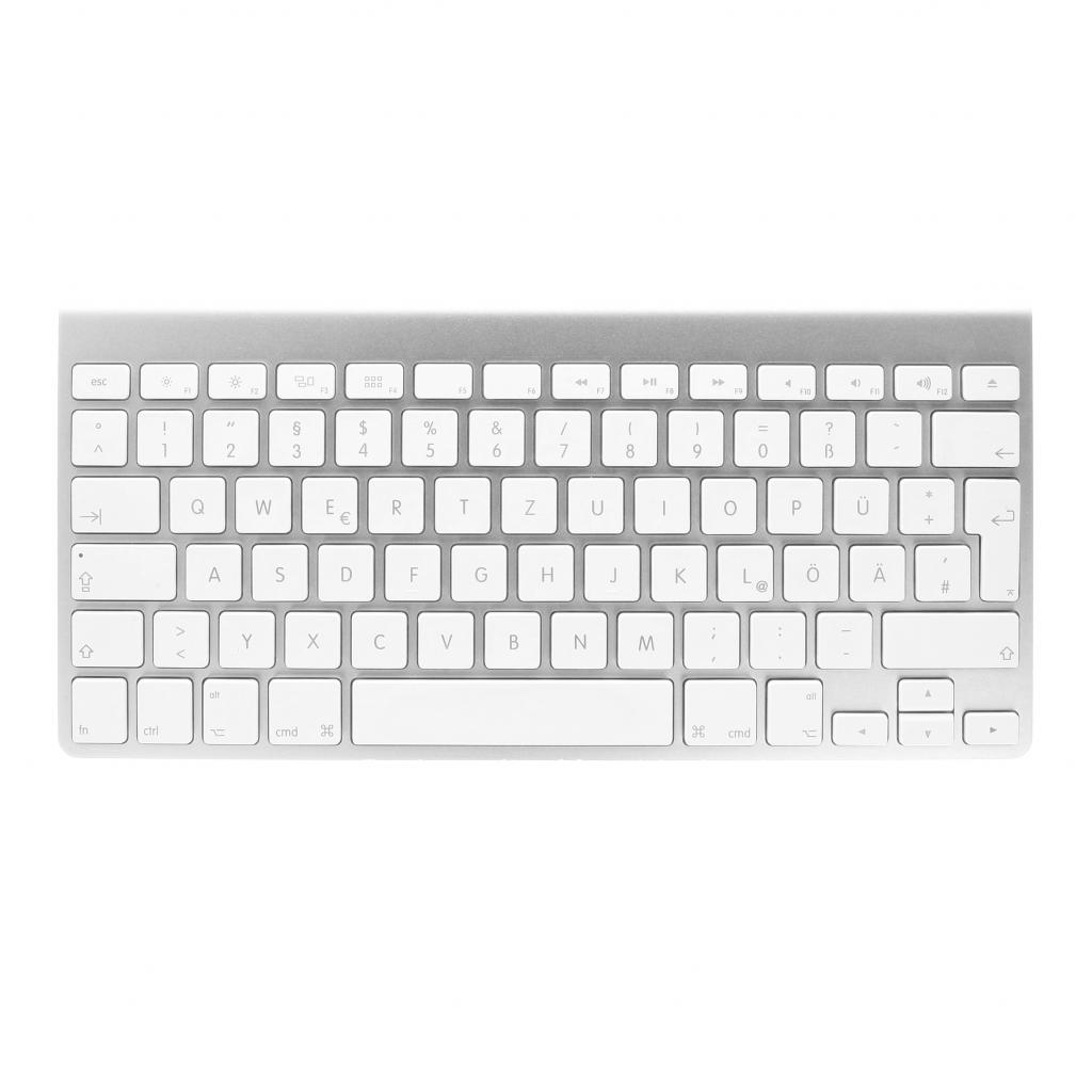 Apple Wireless Keyboard QWERTZ (A1314 / MC184D/A) weiß - sehr gut
