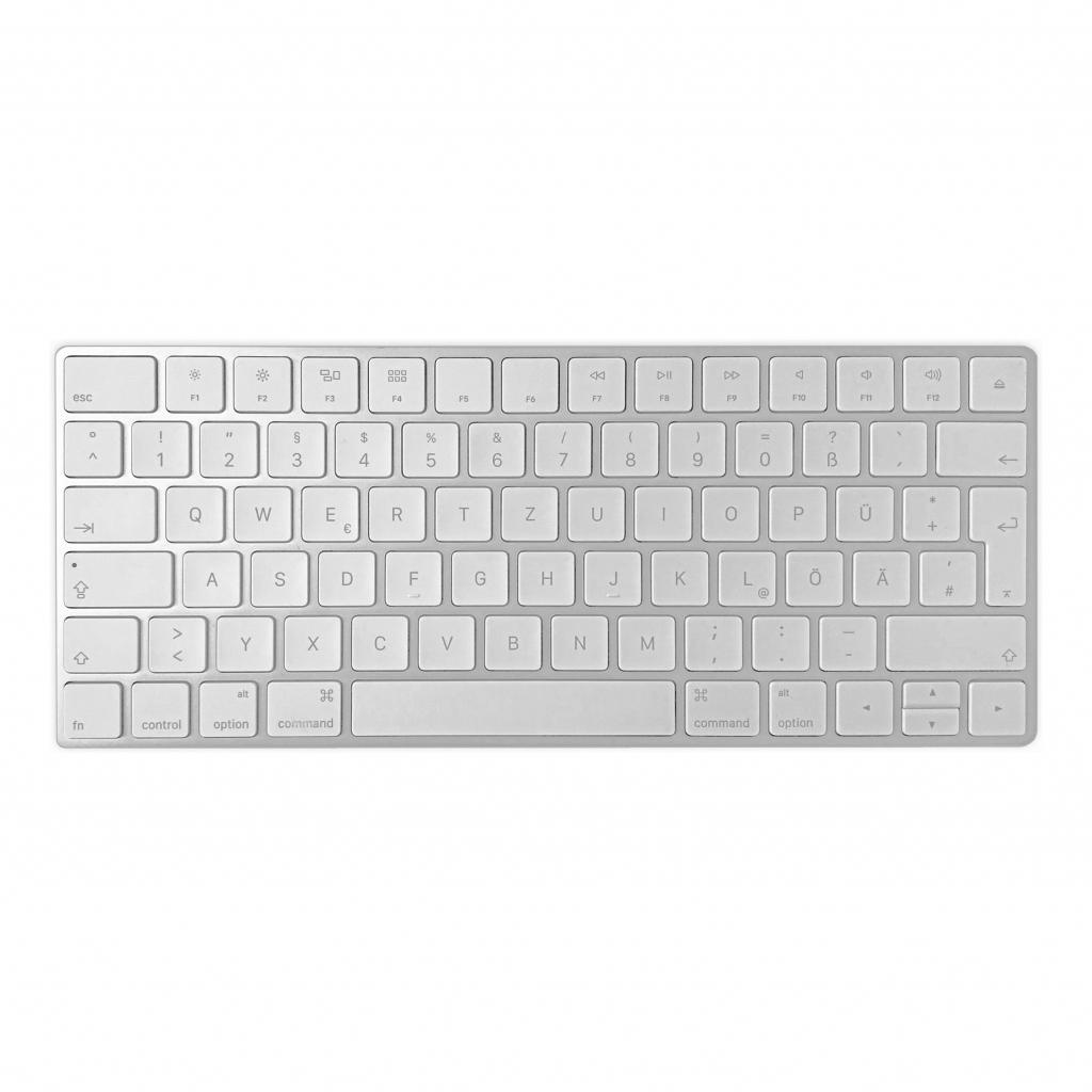 Apple Magic Keyboard QWERTZ (A1644 / MLA22D/A) Silber - gut