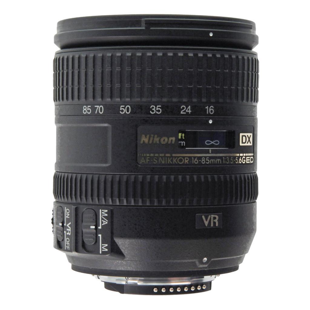 Nikon AF-S Nikkor 16-85mm 1:3.5-5.6G ED DX VR negro - nuevo