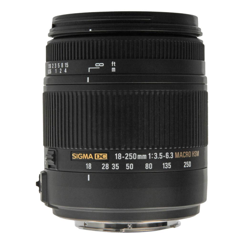 Sigma DC 18-250 mm 1:3.5-6.3 OS HSM für Sony Schwarz - neu