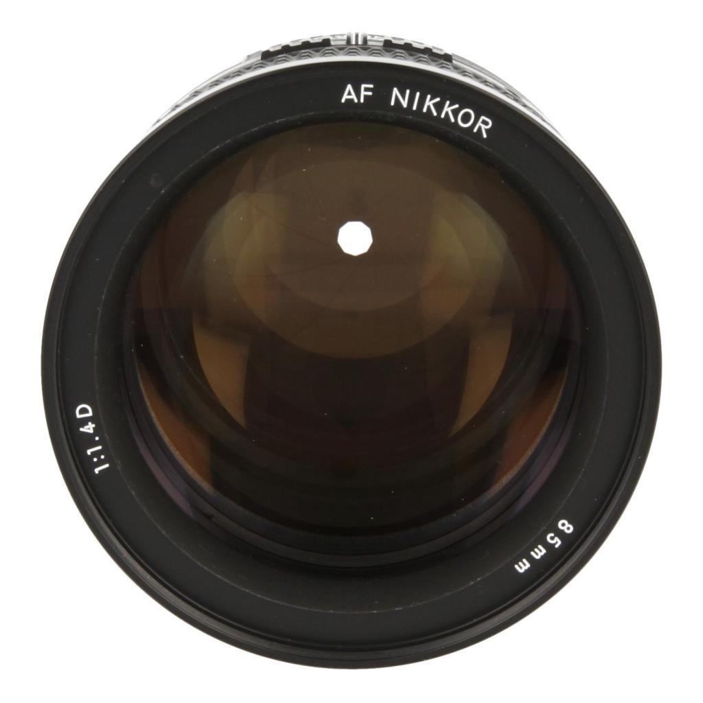 Nikon AF 85mm 1:1.4 D IF NIKKOR negro - nuevo