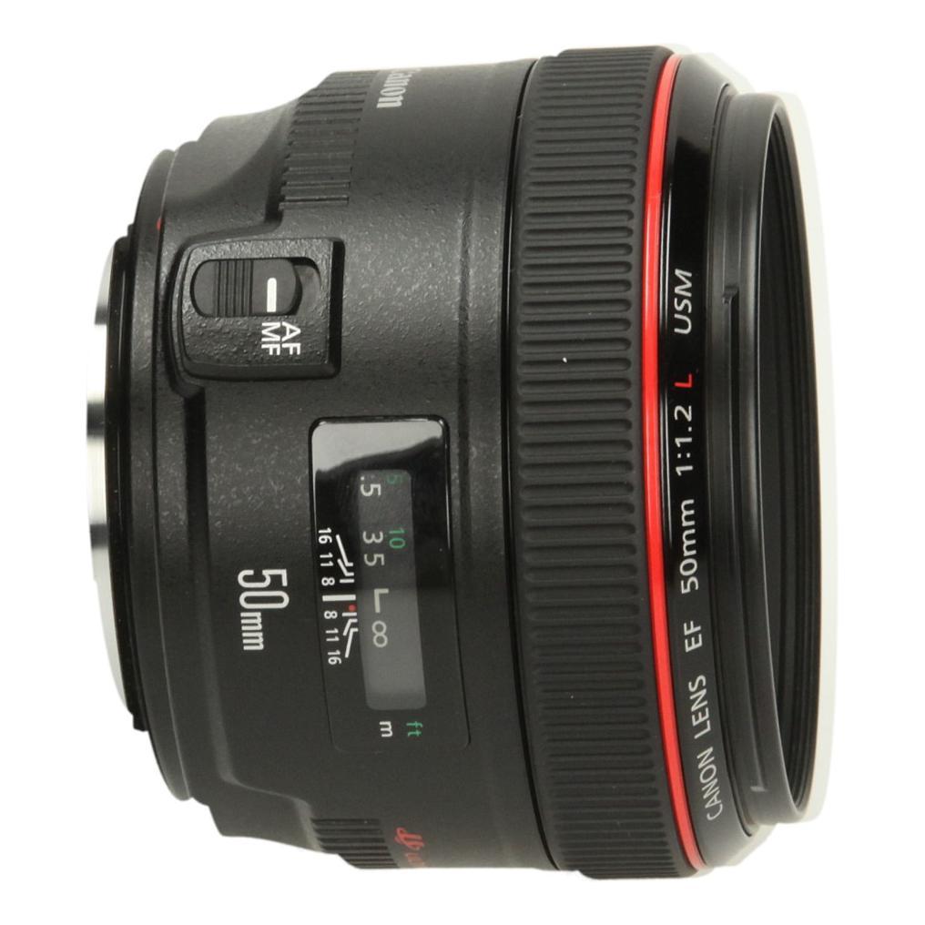 Canon EF 50mm 1:1.2 L USM noir - Neuf