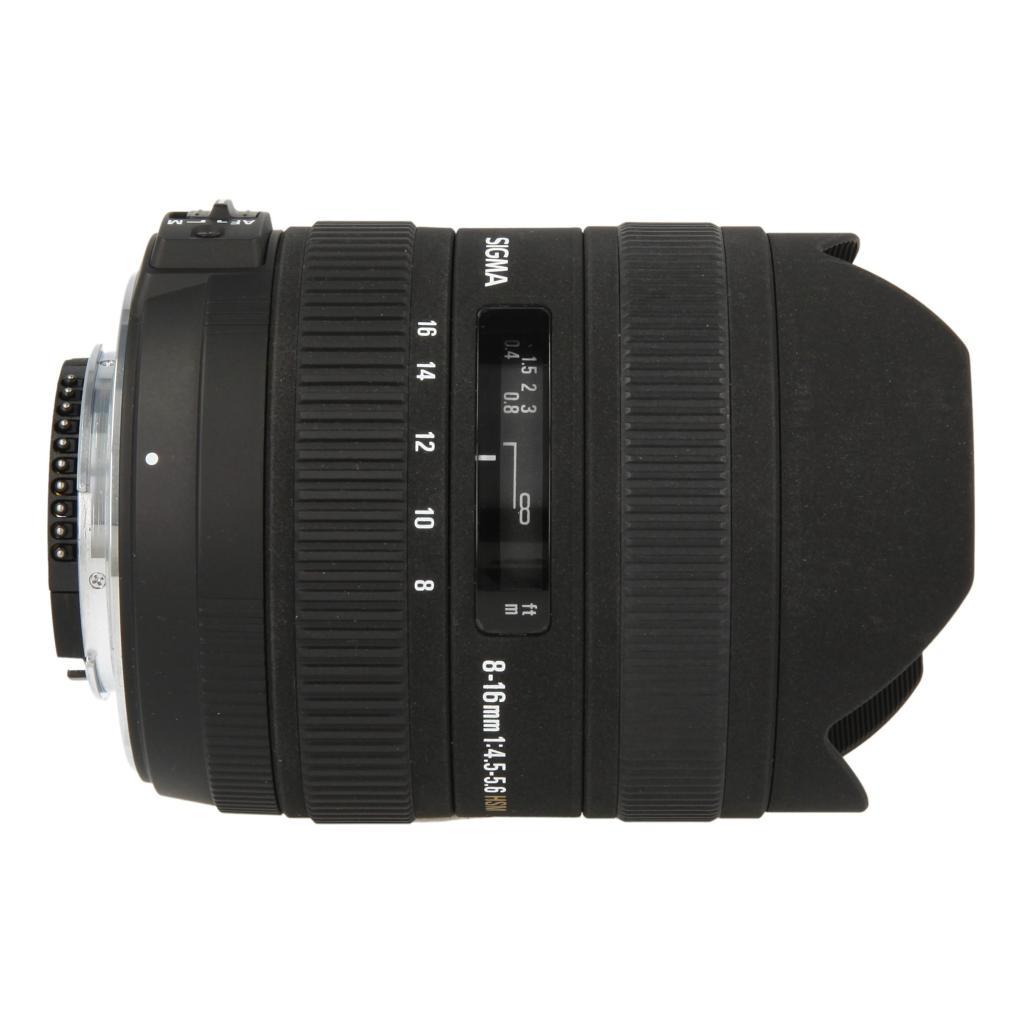 Sigma 8-16mm 1:4.5-5.6 DC HSM für Nikon Schwarz - neu