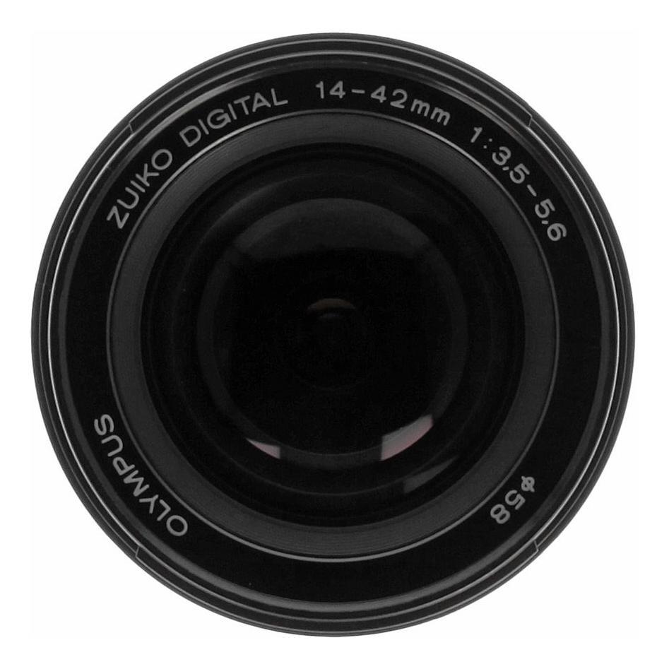 Olympus Zuiko Digital 14-42mm 1:3.5-5.6 Four-Thirds noir - Neuf