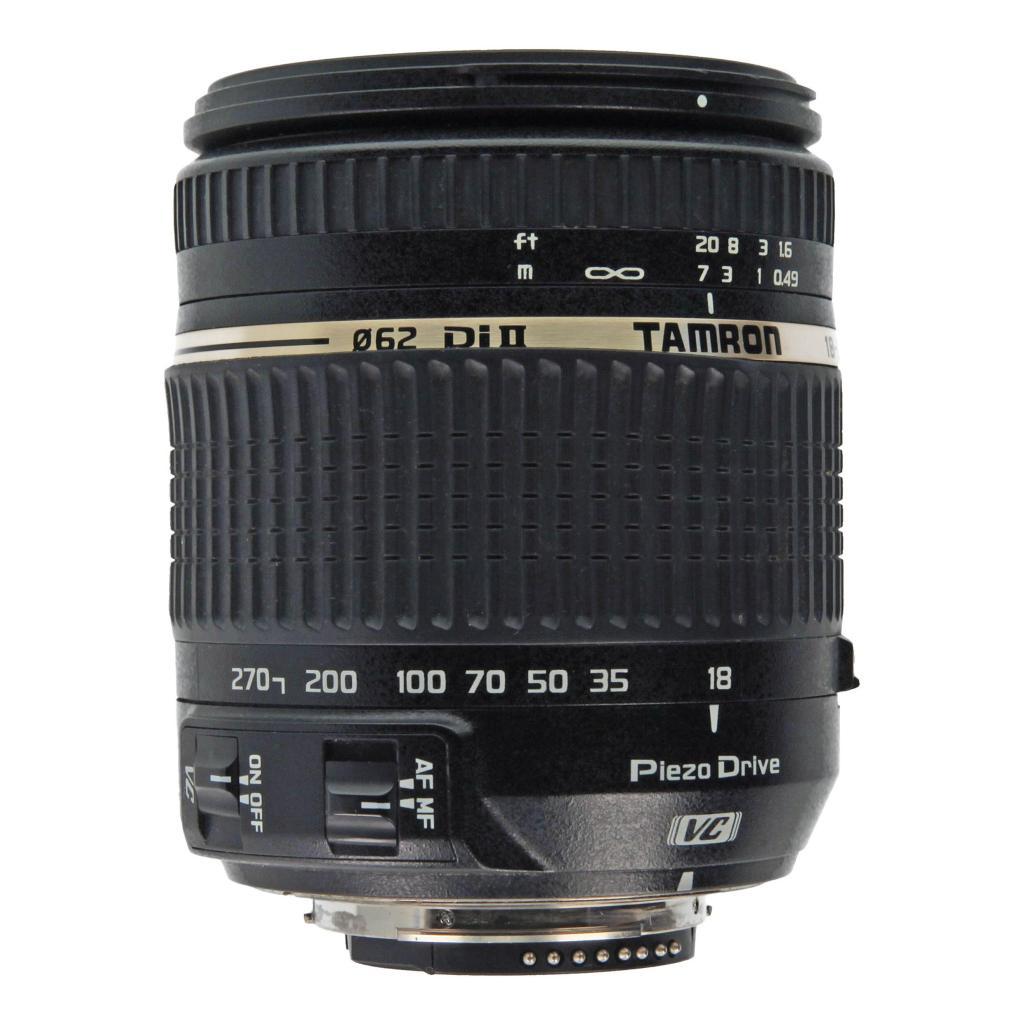 Tamron para Nikon 18-270mm 1:3.5-6.3 AF Di II VC PZD negro - nuevo