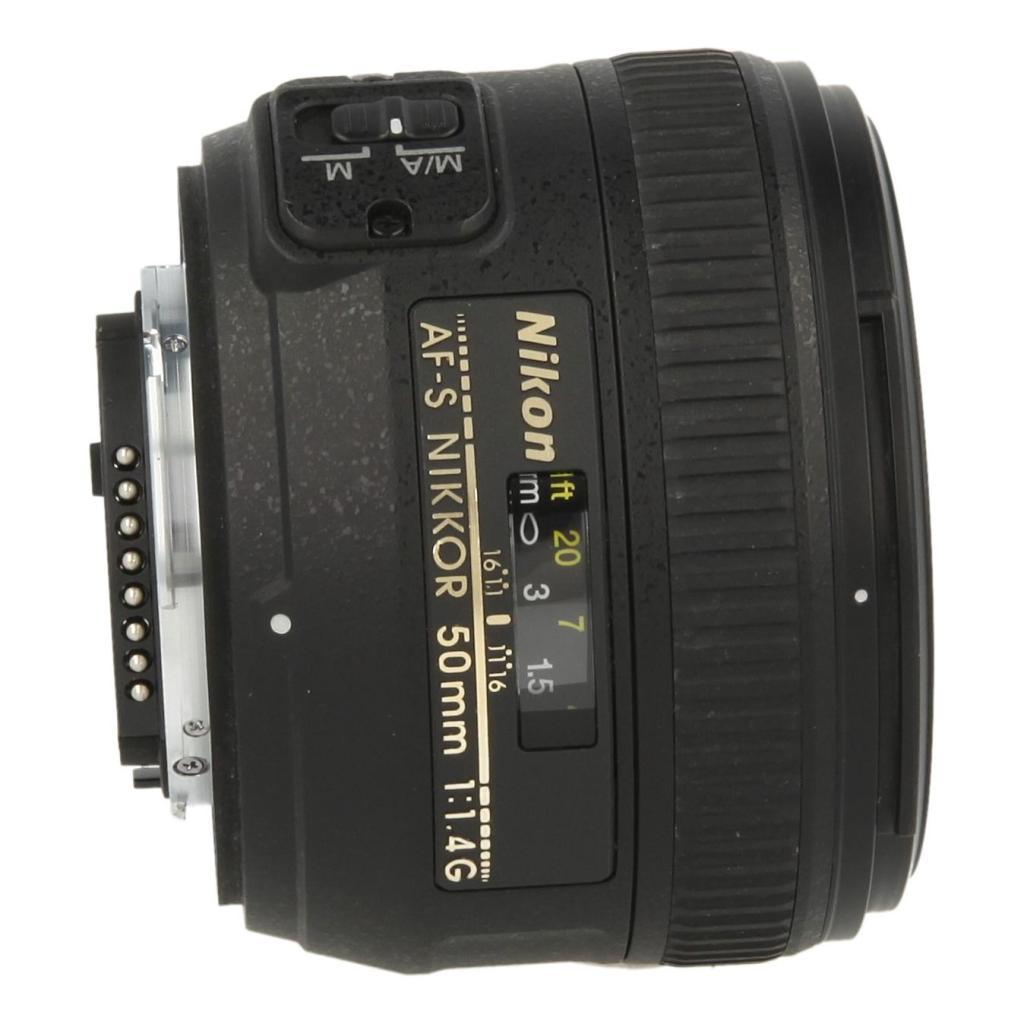 Nikon AF-S Nikkor 50mm 1:1.4G noir - Neuf