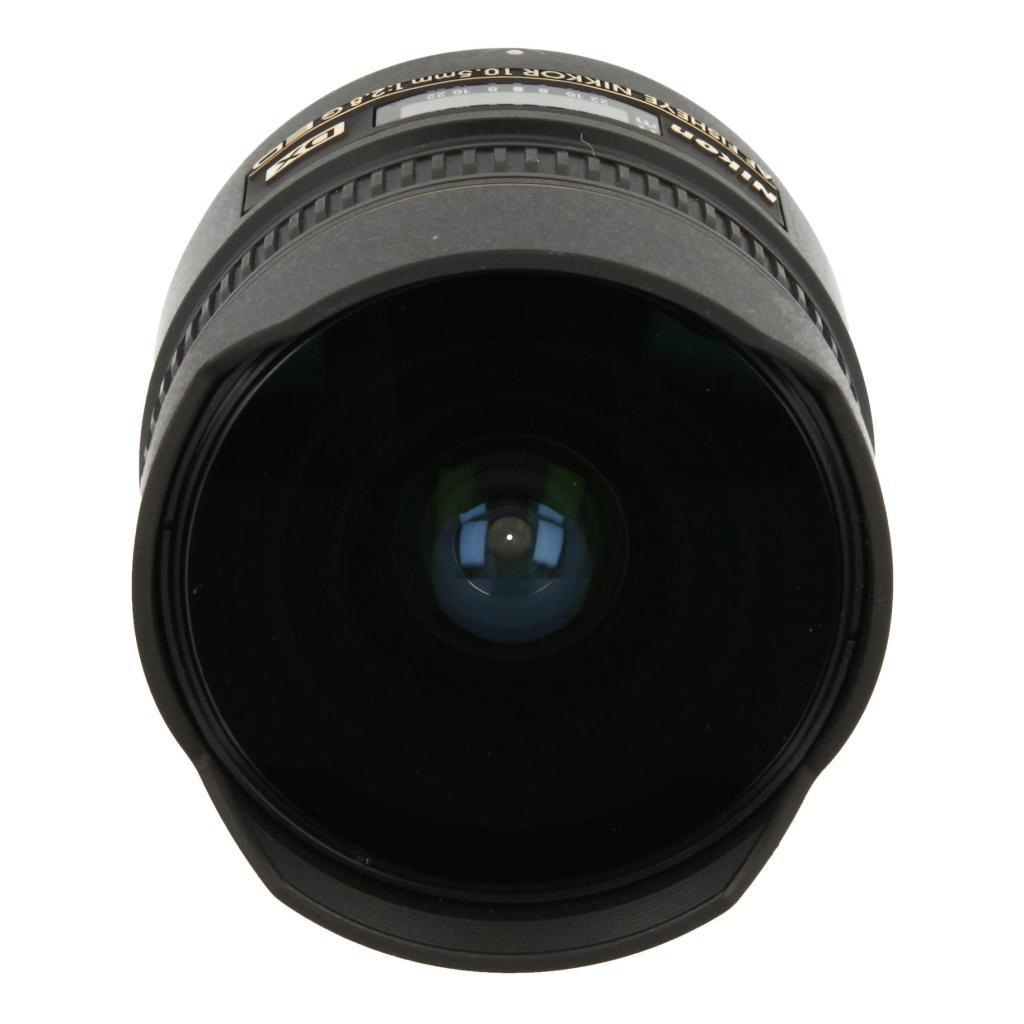 Nikon AF Fisheye Nikkor 10.5mm 1:2.8G DX noir - Neuf