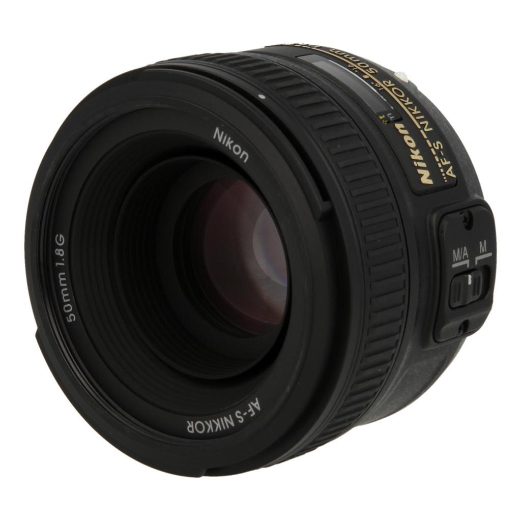 Nikon Nikkor 50mm F1.8 SWM AF-S Aspherical G Objektiv noir - Neuf