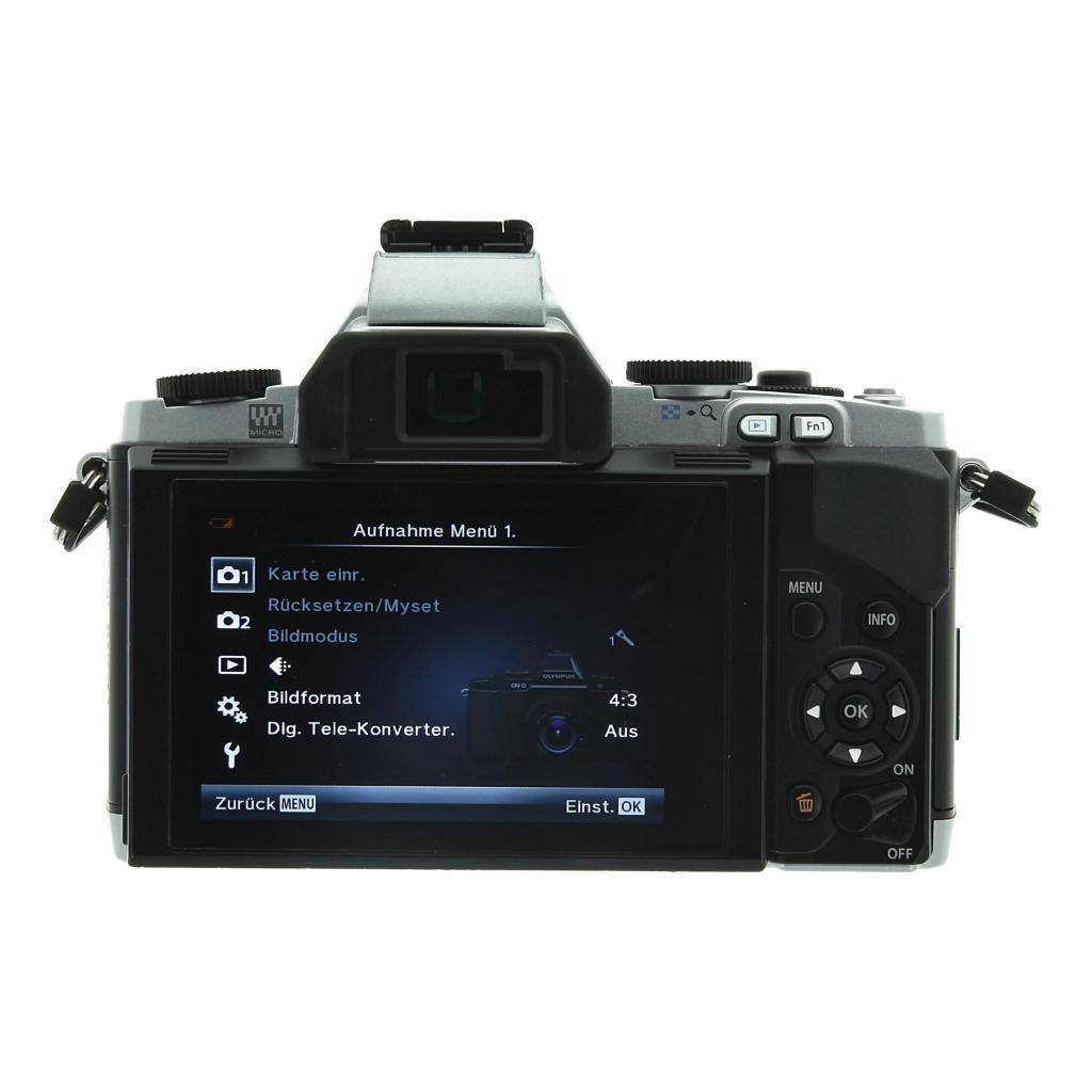 Olympus OM-D E-M5 (Kit mit M.Zuiko Digital ED 12-50mm) silber - neu