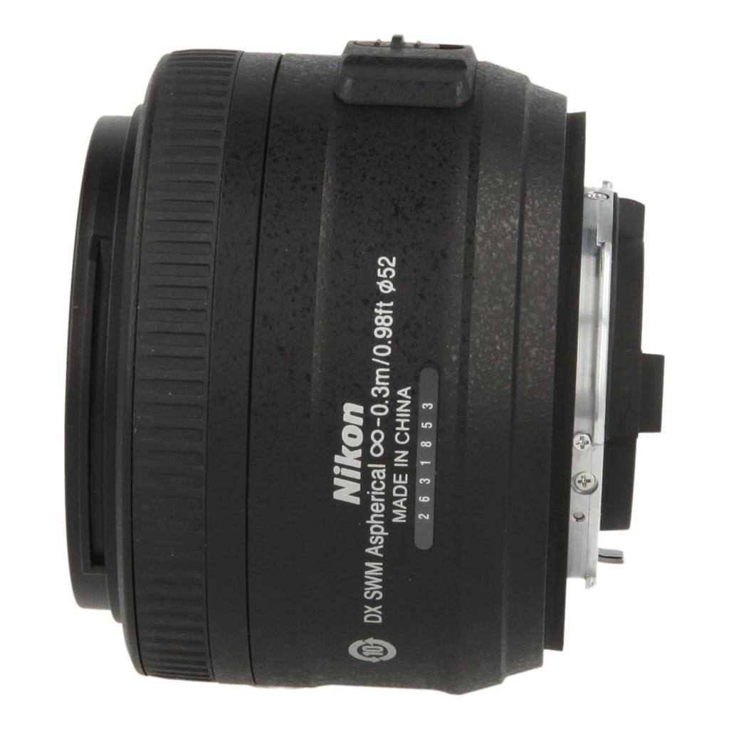 Nikon Nikkor 35mm F1.8 SWM AF-S DX MA G Objektiv noir - Neuf