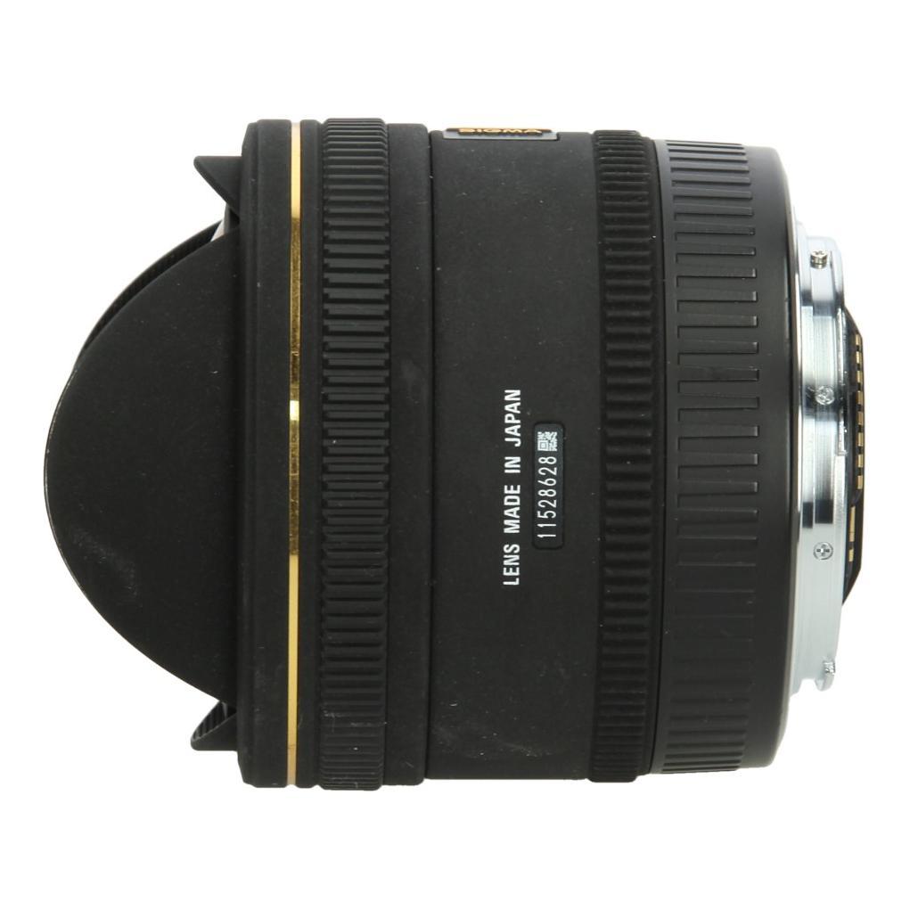 Sigma pour Canon 10mm 1:2.8 EX DC HSM Fisheye noir - Neuf