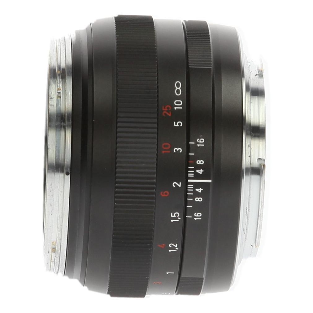 Zeiss 50mm 1:1.4 ZE Planar T* für Canon Schwarz - neu