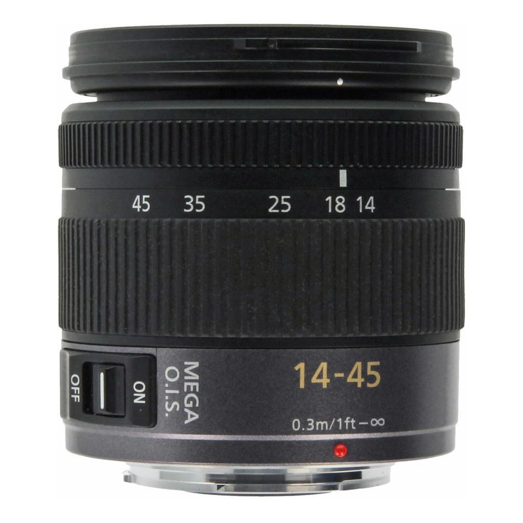 Panasonic 14-45mm 1:3.5-5.6 Lumix ASPH OIS Micro Four Thirds Schwarz - neu