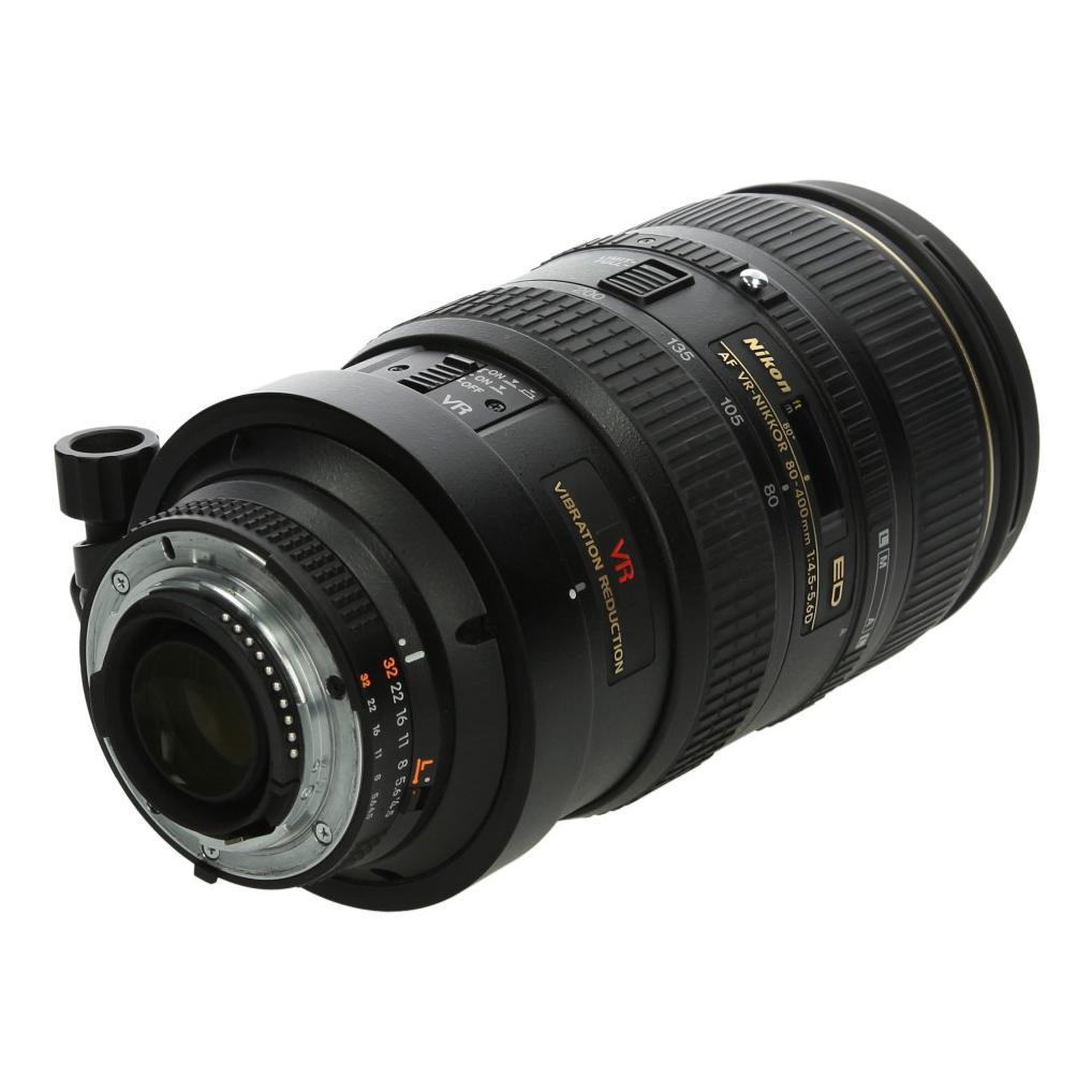 Nikon AF VR-Nikkor 80-400mm 1:4.5-5.6D ED Schwarz - neu
